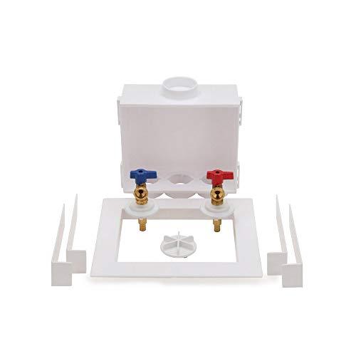 Oatey 38528 Quadtro Washing Machine Outlet Box F1807 PEX Tail Piece, 1/4