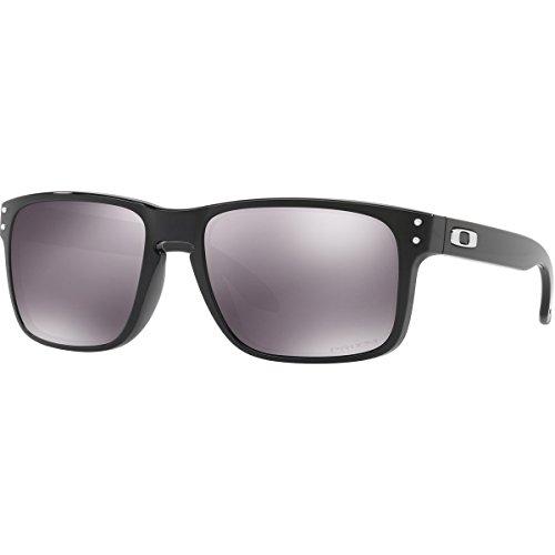 Oakley Men's Holbrook Polarized Iridium Square Sunglasses, Polished Black, 55.01 - Oakley Hollbrooks