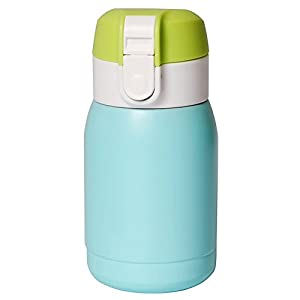 Ospard Thermos Vacuum Insulated Stainless Water Bottle 6 Ounce Blue
