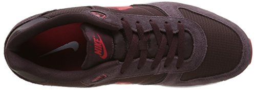 Nike Nightgazer Zapatillas de running, Hombre Marrón / Rojo / Blanco (Mahogany / University Red-White)