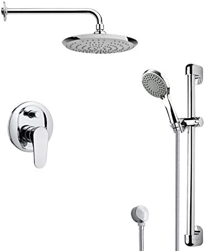 Remer Remer SFR7163 Rendino Pressure Balance Shower Faucet, 7.5 L x 10 W