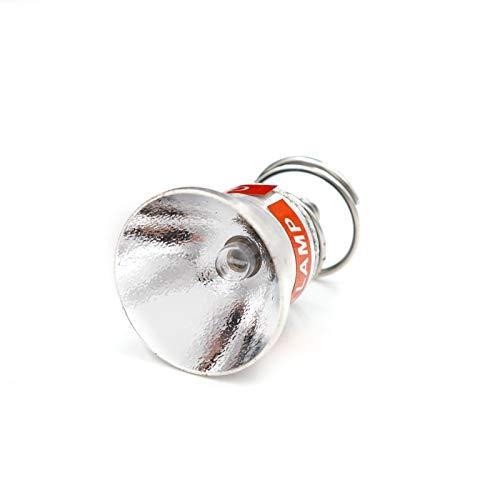 Isali Dia. 26.5mm 3.7V 6V 7.4V 9V 12V P60 Xenon Lamp Cap Bulb Module Drop in OP Reflector for led Flashlight Torch Lantern - (Color: 7.4V)