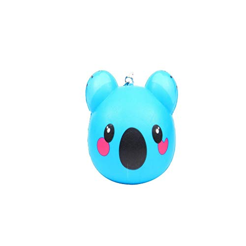 Binory Squishy Toy,Exquisite Mini Cute Animal Creative Purchase Bag/Wallet/Keychain/Phone Ornament,Slow Rising Attractive Toy,Stress Relief Fun Kawaii Decompression Toy,Children's Day -
