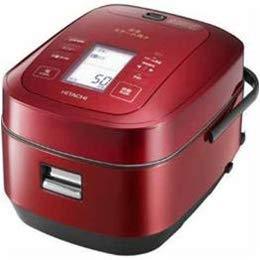 家電 キッチン家電 炊飯器 日立 圧力スチームIH炊飯器「ふっくら御膳」(5.5合炊き) メタリックレッド RZ-AW3000M-R -ak [簡易パッケージ品] B07H3887PM