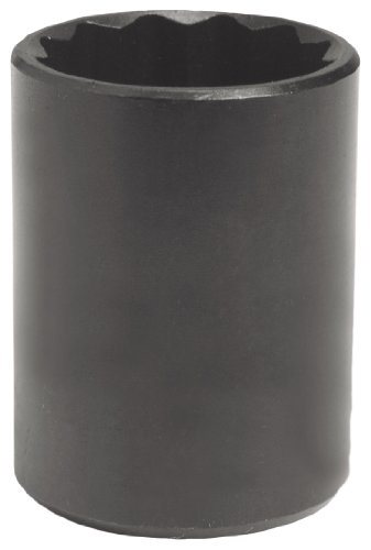 - Stanley Proto J5428B 1/2-Inch Drive Black Oxide Socket, 7/8-Inch, 12 Point