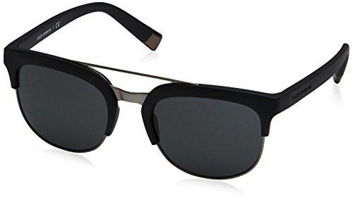 Dolce & Gabbana Women's 0dg6103 Square Sunglasses, Matte Black, 55 - Gabbana Style Dolce