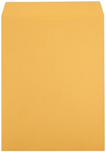 AmazonBasics Catalog Envelopes, Peel & Seal, 10 x 13 Inch, Brown Kraft, 100-Pack Photo #2