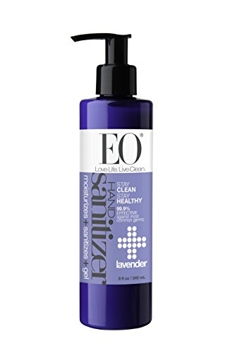 EO Botanical Hand Sanitizer Gel, Lavender, 8 Ounce