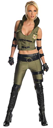 Secret Wishes Mortal Kombat Sonya Blade, Multicolor, Large -
