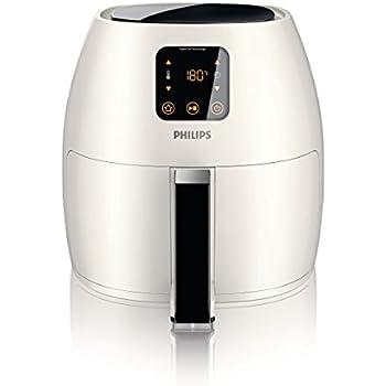 Philips Starfish Technology XL Airfryer, Digital Interface, White -2.65lb/3.5qt-HD9240/34