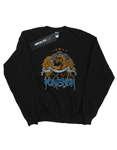 Absolute Entrenamiento Cult Hombre Camisa Punisher Negro Drewbacca Rose De 00qdrPwn