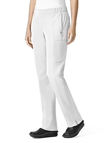 Vera Bradley Halo Collection Women's Mary Quilted Cargo Scrub Pant- White- ()