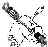 Michigan Parts Wheel (Michigan Wheel 6209823 MICH Hub Kit Mercury 18-25 HP Xhs Hub Kit MERC 9.9-25HP)