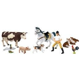 Farm Animals and Friends Figure Set