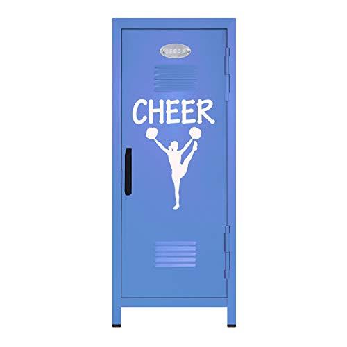 Pastel Blue/White Cheer Mini Locker Gift - 10.75