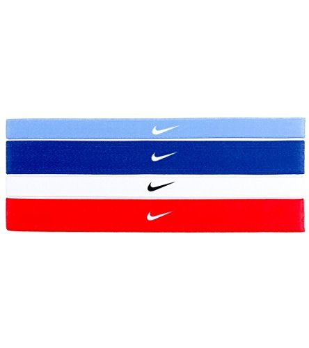 NIke Printed Headbands Assorted 4 Pack by NIKE (Image #1)