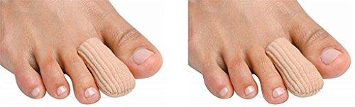 PediFix Visco-gel Toe Protector, Large, (Pack of 2)