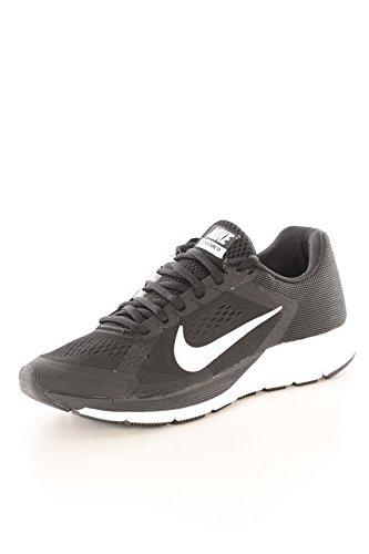 Nike Kvinner Zoom Structure + 17 Kjører Trenere 615588 105 Joggesko Sko Nike Plus Svart Hvit 010