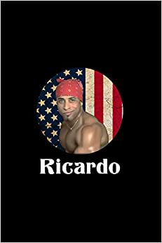 Ricardo: Ricardo Milos Journal, Funny Notebook , Sexy Dancer, Funny Gift 120 Pag. por Yeraldi Rusbel Gratis