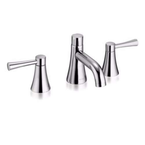 TOTO TL794DD12#CP 1.2Gpm Nexus Brass Widespread Resd. Lav Faucet, Polished Chrome ()