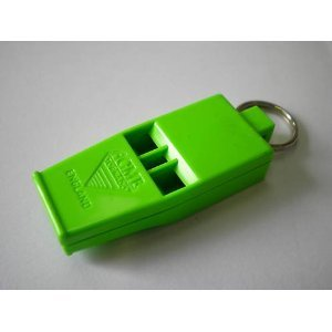 Acme 636 Safety Whistle DayGlo Green
