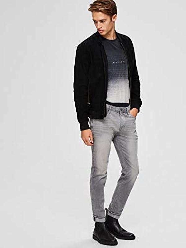 SELECTED HOMME męskie jeansy Slim Fit 3021: Odzież