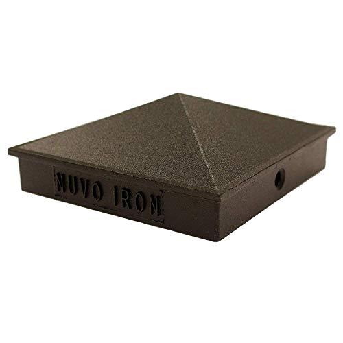 Nuvo Iron Decorative Pyramid Aluminium Post Cap for 3.5