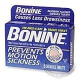Bonine Chewable Tablets for Motion Sickness 50100187 16 pk