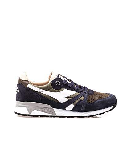 Diadora Heritage, Uomo, N9000 H S SW, Suede, Sneakers, Blu, 42.5 EU