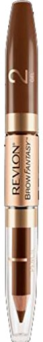 Revlon Brow Fantasy Pencil & Gel, Brunette [105] 0.051 oz (Pack of 5)