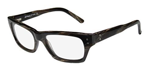 Smith Optics Bradford Mens/Womens Optical Newest Collection Designer Full-rim Flexible Hinges Eyeglasses/Spectacles (50-17-135, Brown ()