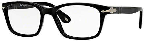 Persol PO3012V Eyeglasses Black 54 ()