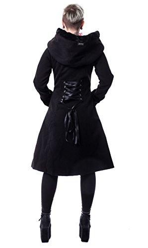 Vixxsin Mujer Abrigo Elena Abrigo Negro Rojo wBwxnpg