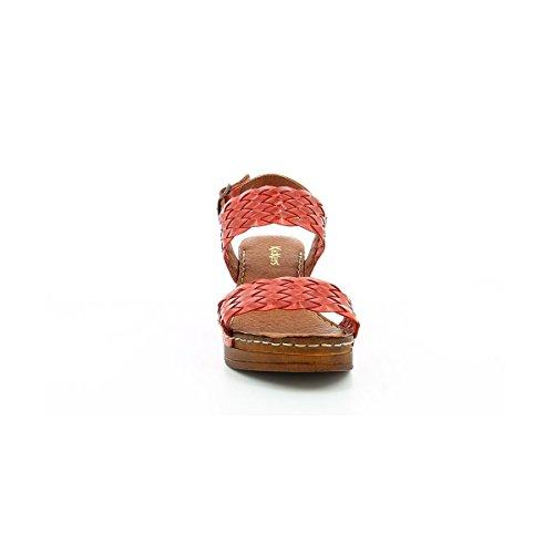 Rouge Femme Sandale Kickers Kickers Trela Sandale Sandale Femme Rouge Trela Trela Kickers wxXSH7aq