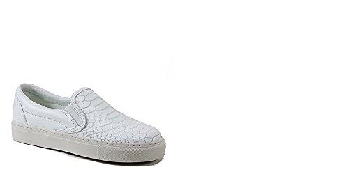 Bronx Kork Kee Slip Op Lederen Fashion Sneaker 36
