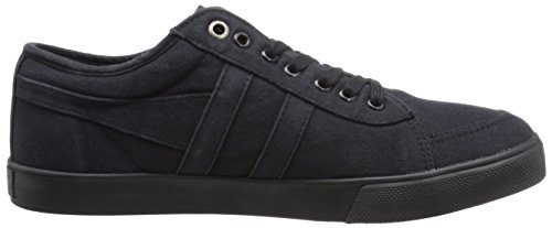 Gola Women's Comet Canvas Fashion Sneaker, Black, 6 M US