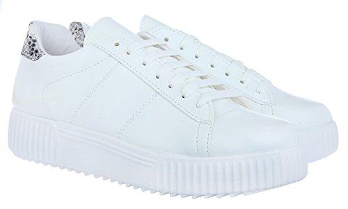 Python Janiko by Sneakers Bianco Women SOJU JBJ0024 J zU1xw