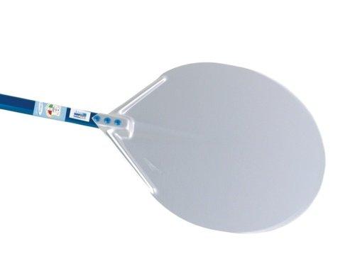 Pizza Peel Solid Circular 13-inch Head with 47-inch Tubular Handle GI Metal A-32/120