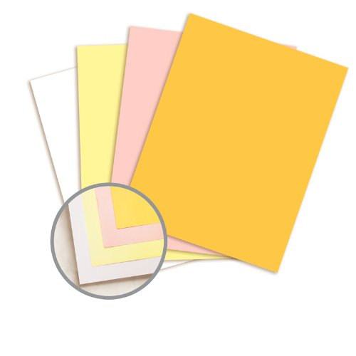NCR Paper* Brand Xero/Form II Multi-Colored Carbonless Paper - 8 1/2 x 11 in 22 lb Writing Precollated 4-Part RS Goldenrod, Pink, Canary, White 500 per Ream by Appvion NCR Paper* Brand Xero/Form II