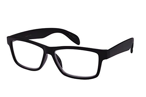 Edge I-Wear Lightweight Rectangular Framed Reader 540593-+1.25-4 - Plastic Framed Glasses