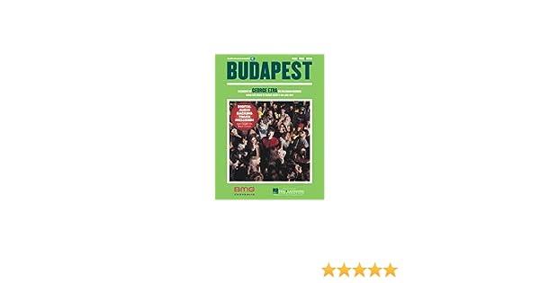 Budapest Pianovocalguitar By George Ezra George Barnett Joel