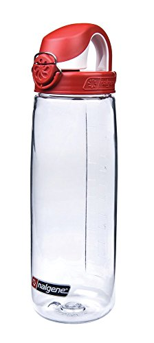 Bottle Fly Water - Nalgene 24 oz Tritan On the Fly Water Bottle - Clear/Red
