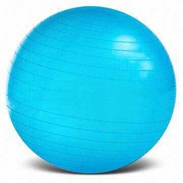 Therapist's Choice Fitness Anti-Burst Exercise Ball: 65cm - For Fitness, Therapy, Sports Training, Yoga and More (65 CM Blue) by Therapist's Choice®