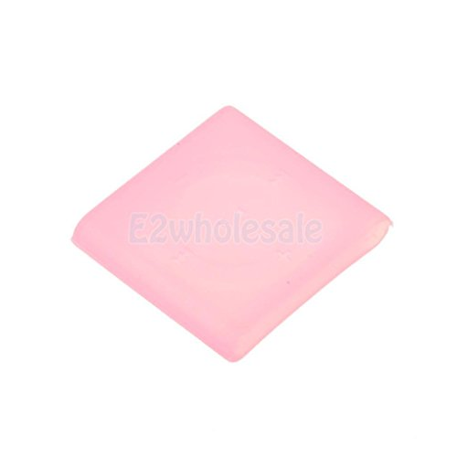 Protective Silicone Skin Case Cover For Mp3 iPod Shuffle 6/7 Pink (Shuffle Case Protective Silicone)