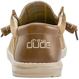 31AsHUDC%2BHL. AC Hey Dude Wally Corduroy    Designed to be your favorite shoe for all occasions, Wally embodies the Hey Dude lifestyle by combining your passion for comfort, quality, and fashion. This unique combination allows you to attack each day as a new adventure with the confidence your feet wont be the reason to slow down. Constructed with leading-edge technology, like the Flex & Fold system, Wally easily is one of the most comfortable and versatile shoes on the market.