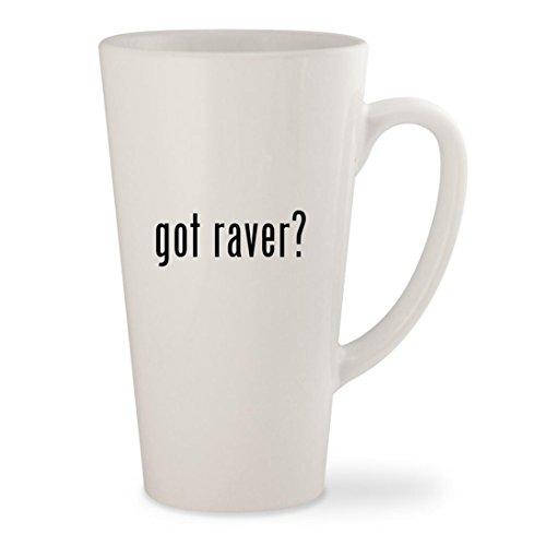 Candy Raver Costume (got raver? - White 17oz Ceramic Latte Mug Cup)