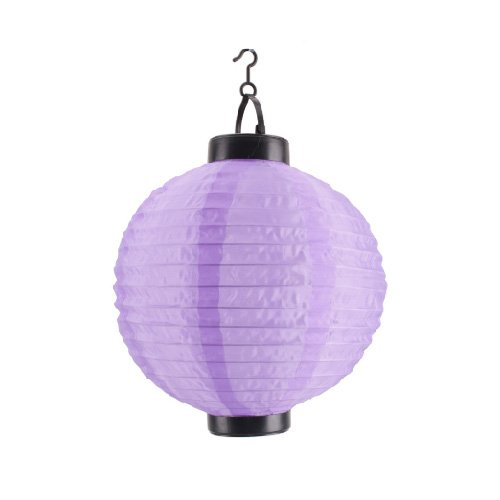 Outdoor Party Automatic Charging Purple Lantern Solar Power Light, Outdoor Stuffs