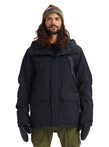 Burton Men's Breach Jacket, True Black W20, Medium