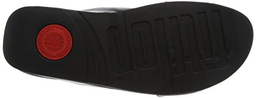 Cross FitFlop schwarz 35 5 Sandalen Slide Lulu Schwarz EU Peeptoe Leather Damen 6xBpT