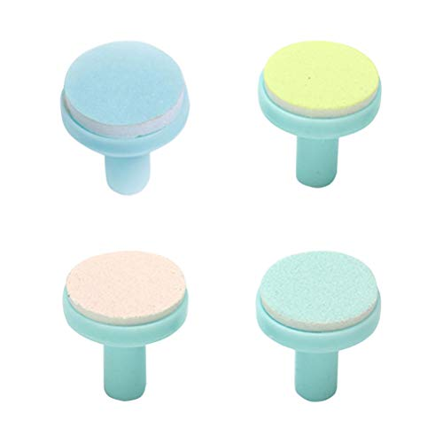 Healifty Nail Trimmer Pads 4pcs Refills for Baby Nail Trimmer Replacement Grinding Heads for Nail Polisher Nail File Clippers -